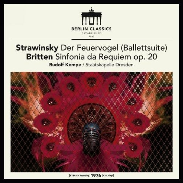 Stravinsky - The Firebird Suite; Britten - Sinfonia da Requiem (LP) | Berlin Classics 0300892BC