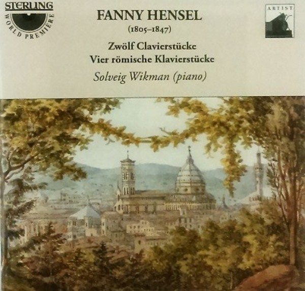 Fanny Hensel - 4 Roman Piano Pieces & other Piano Pieces | Sterling CDA1699