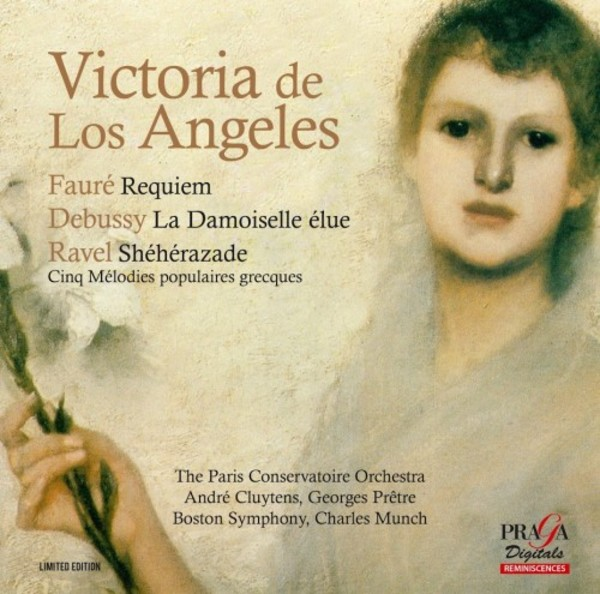 Victoria de los Angeles sings Faure, Debussy & Ravel | Praga Digitals DSD350137