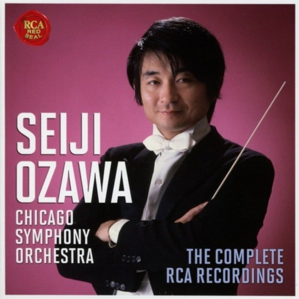 Seiji Ozawa & the Chicago Symphony Orchestra: The Complete RCA Recordings | Sony 88985392102