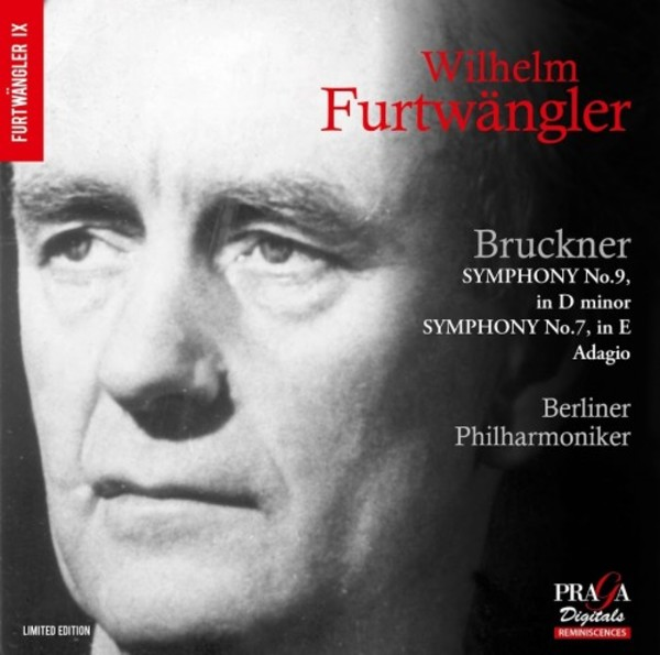 Bruckner - Symphony no.9, Adagio from Symphony no.7 | Praga Digitals DSD350125
