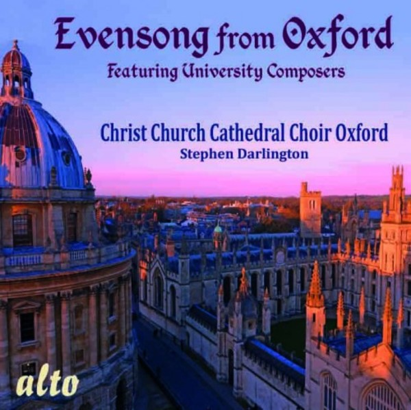 Evensong from Oxford | Alto ALC1349