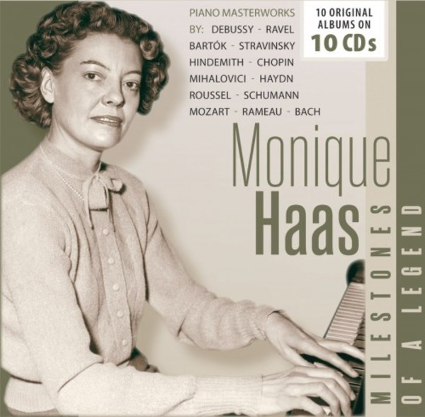 Monique Haas: Milestones of a Legend | Documents 600380