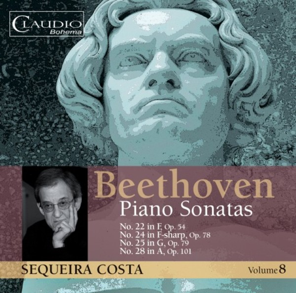 Beethoven - Piano Sonatas Vol.8 | Claudio Records CB55782