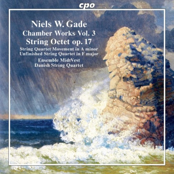 Niels Gade - Chamber Works Vol.3: String Octet op.17 | CPO 5550772
