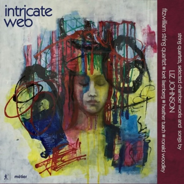 Intricate Web: String quartets, chamber works & songs by Liz Johnson | Metier MSV77206
