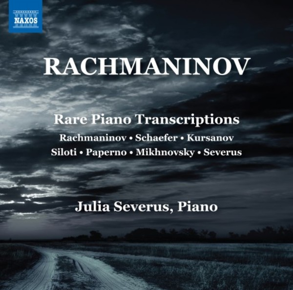 Rachmaninov - Rare Piano Transcriptions | Naxos 8573468