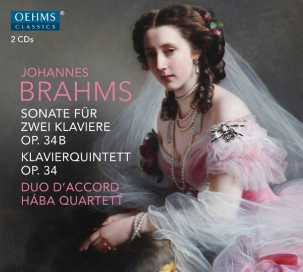 Brahms - Sonata for 2 Pianos, Piano Quintet in F minor | Oehms OC1868