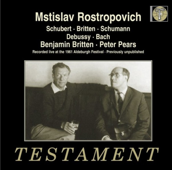 Rostropovich live at the 1961 Aldeburgh Festival | Testament SBT21517