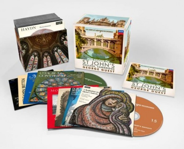 The Choir of St John�s College Cambridge & George Guest: The Complete Argo Recordings