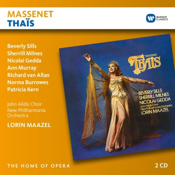 Massenet - Thais | Warner - The Home of Opera 9029586906