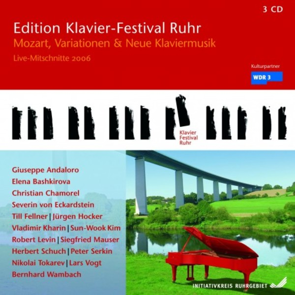 Ruhr Piano Festival Vol.14 - Mozart, Variations and New Piano Music | C-AVI AVI553067