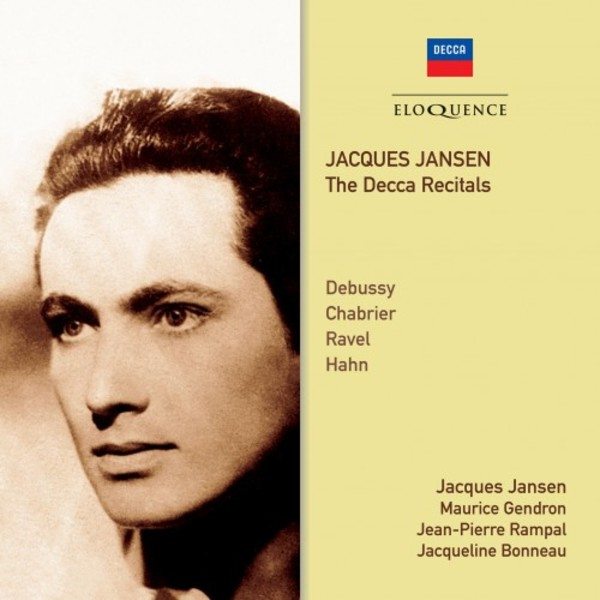 Jacques Jansen: The Decca Recitals | Australian Eloquence ELQ4824603