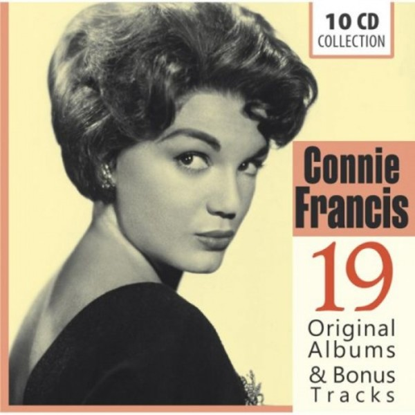Connie Francis: 19 Original Albums & Bonus Tracks | Documents 600261