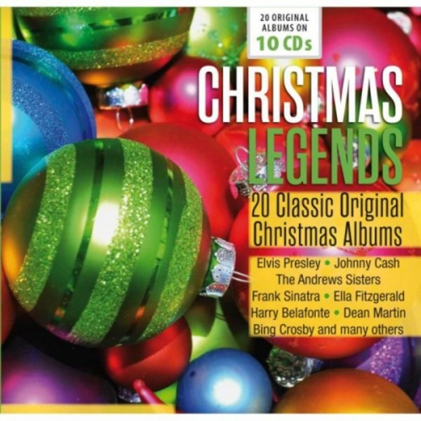 Christmas Legends: 20 Classic Original Christmas Albums | Documents 600330