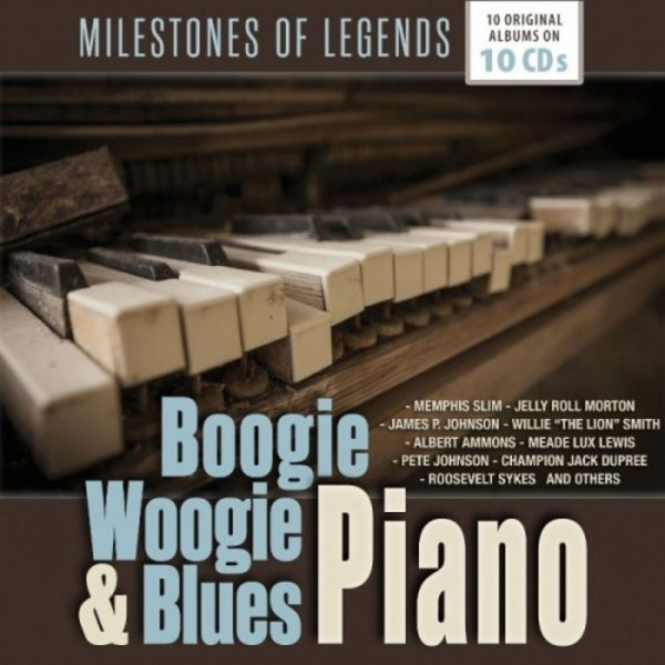 Boogie Woogie & Blues Piano | Documents 600336