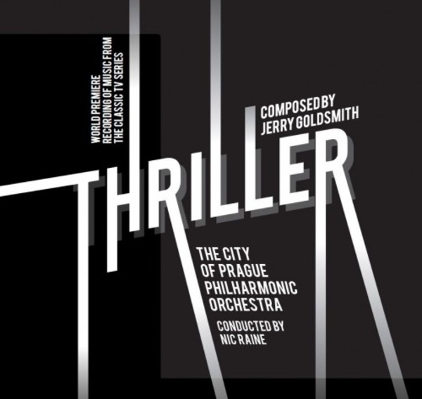 Jerry Goldsmith - Thriller (Music from the TV Series) | Tadlow Music TADLOW024