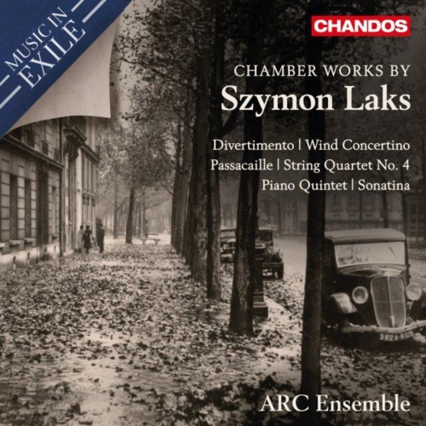 Music in Exile Vol.3: Chamber Works by Szymon Laks | Chandos CHAN10983