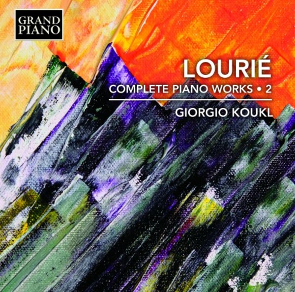 Lourie - Complete Piano Works Vol.2 | Grand Piano GP750