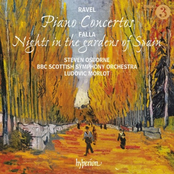 Ravel - Piano Concertos; Falla - Nights in the Gardens of Spain | Hyperion CDA68148