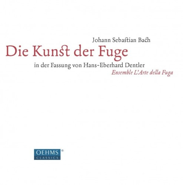 JS Bach - The Art of Fugue (arr. Hans-Eberhard Dentler) (LP) | Oehms OC050