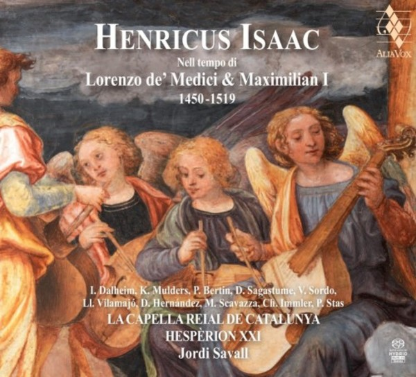 Heinrich Isaac in the time of Lorenzo de� Medici and Maximilian I 1450-1519
