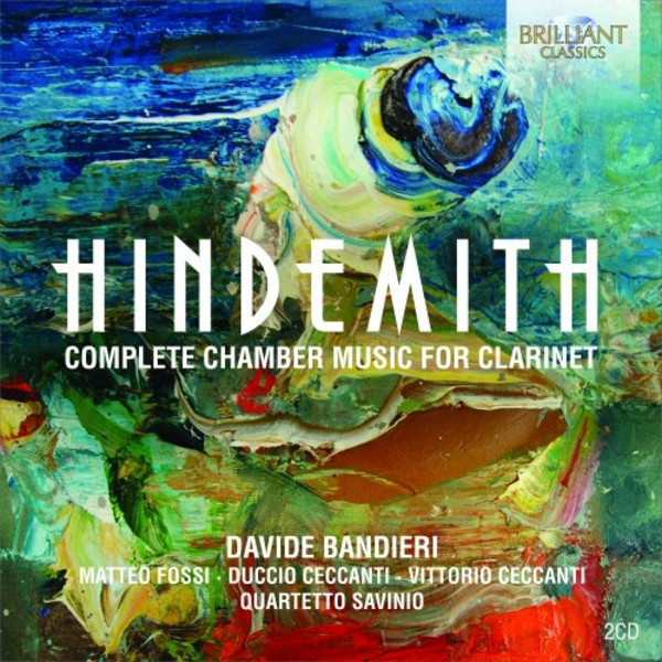 Hindemith - Complete Chamber Music for Clarinet | Brilliant Classics 95295