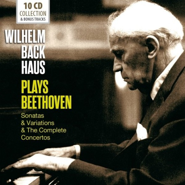 Wilhelm Backhaus plays Beethoven: Sonatas, Variations & The Complete Concertos | Documents 600388