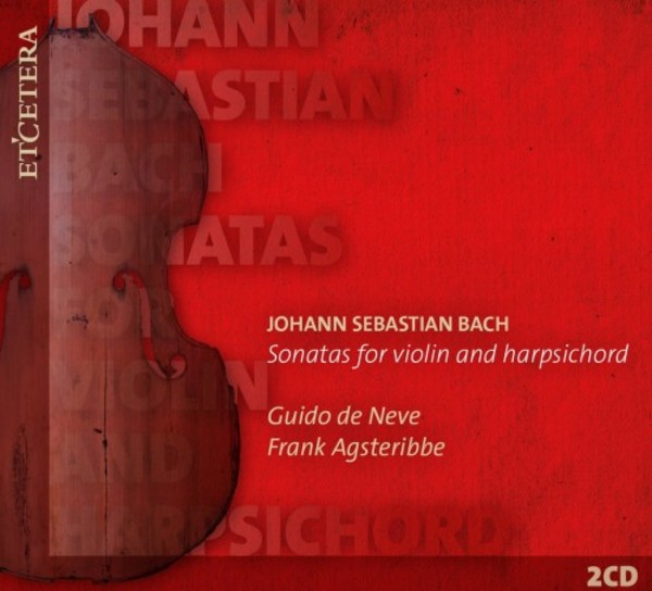JS Bach - Sonatas for Violin and Harpsichord | Etcetera KTC1596