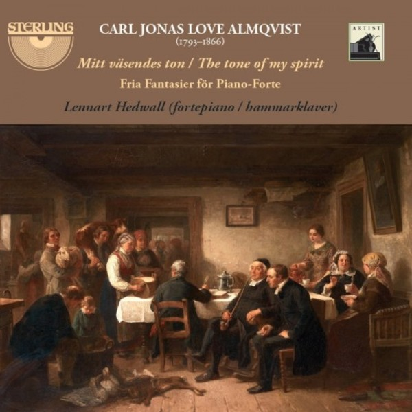 CJL Almqvist - Mit vasendes ton: Free Fantasies for Piano | Sterling CDA1808