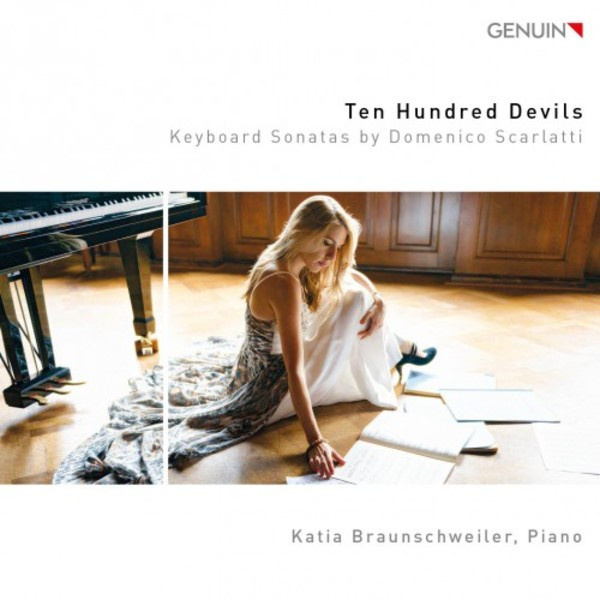 Ten Hundred Devils: Keyboard Sonatas by Domenico Scarlatti | Genuin GEN17477