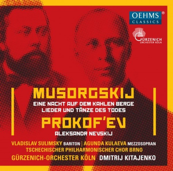 Mussorgsky - Night on Bald Mountain, Songs and Dances of Death; Prokofiev - Alexander Nevsky | Oehms OC459