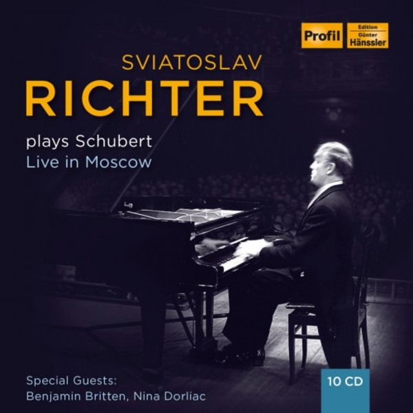 Sviatoslav Richter plays Schubert: Live in Moscow | Profil PH17005