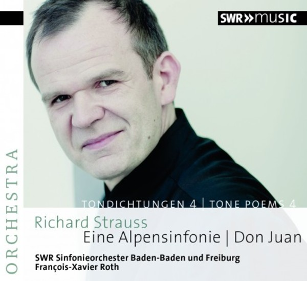 R Strauss - Tone Poems Vol.4: Eine Alpensinfonie, Don Juan | SWR Music 93335