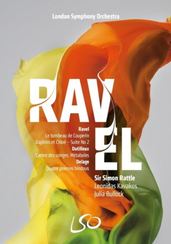 Ravel - Daphnis et Chloe Suite no.2, Le Tombeau de Couperin (DVD + Blu-ray)