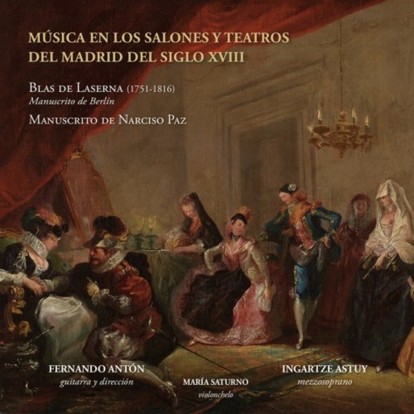 Music in the Salons and Theatres of 18th-century Madrid | Lindoro NL3034