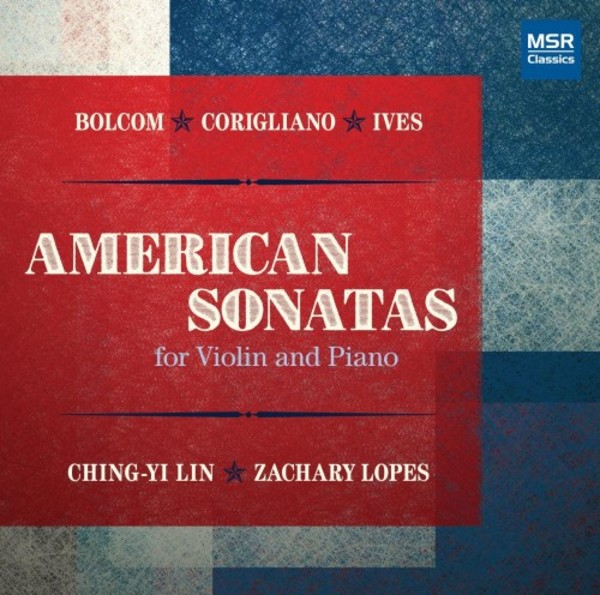 American Sonatas for Violin and Piano | MSR Classics MS1553