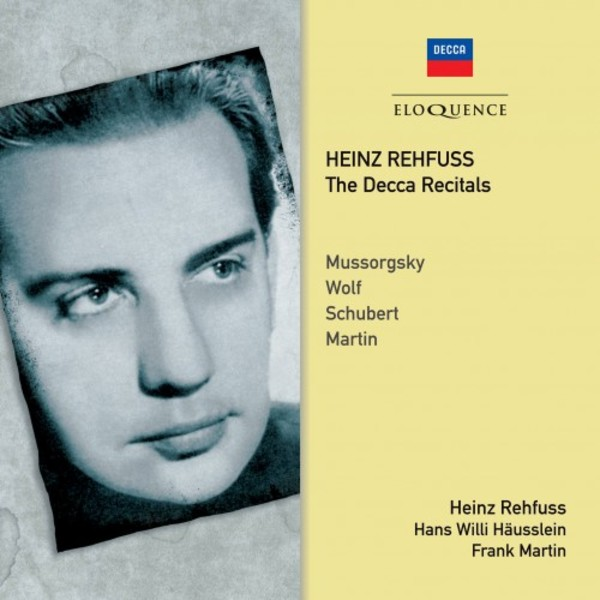 Heinz Rehfuss: The Decca Recitals | Australian Eloquence ELQ4824607