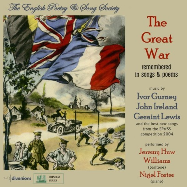 The Great War remembered in Songs & Poems | Divine Art DDV24164
