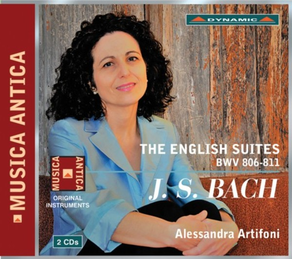 JS Bach - The English Suites, BWV 806-811 | Dynamic CDS7793