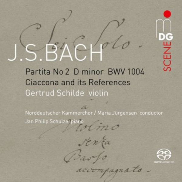 JS Bach - Partita no.2 in D minor: Ciaccona and its References | MDG (Dabringhaus und Grimm) MDG9032004