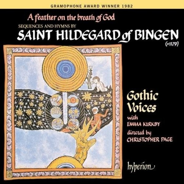 A Feather on the Breath of God: Sequences and Hymns by Saint Hildegard of Bingen | Hyperion CDA66039