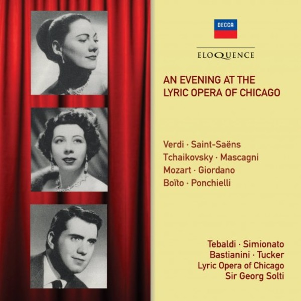 An Evening at the Lyric Opera of Chicago | Australian Eloquence ELQ4827518