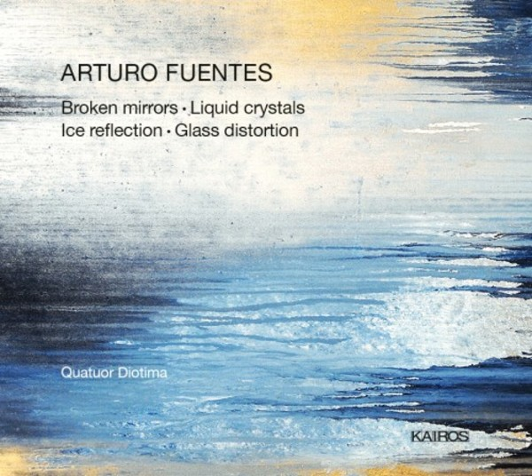 Fuentes - Broken mirrors, Liquid crystals, Ice reflection, Glass distortion