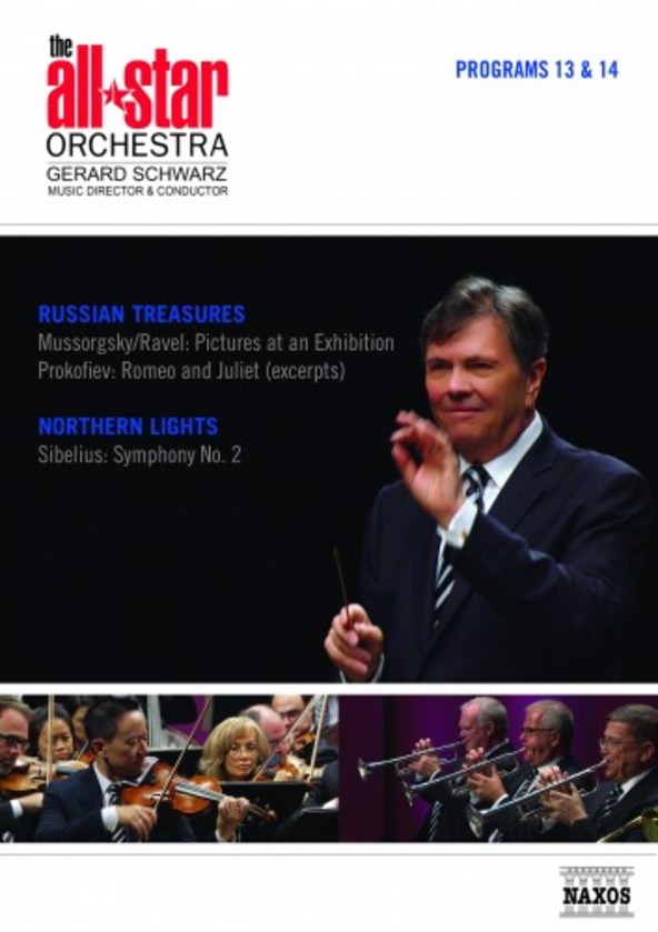 The All-Star Orchestra: Russian Treasures & Northern Lights (DVD) | Naxos - DVD 2110561