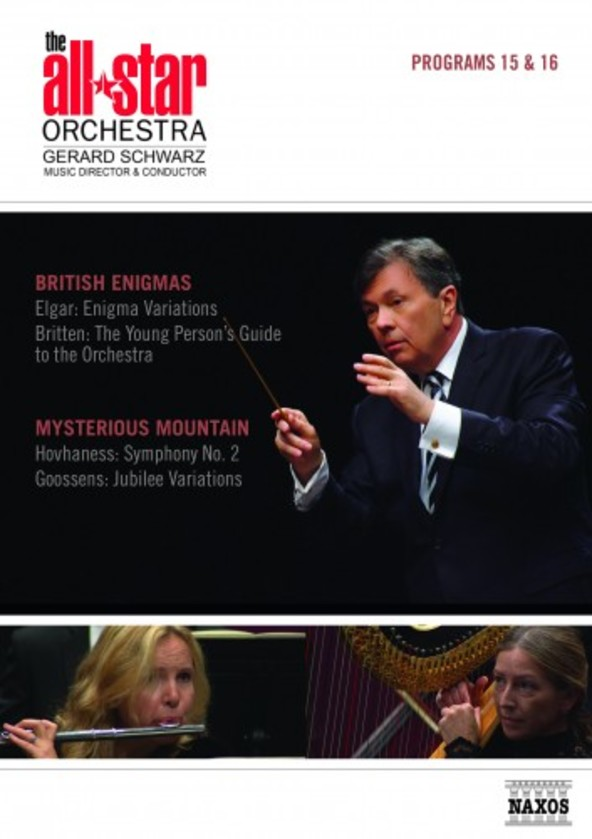 The All-Star Orchestra: British Enigmas & Mysterious Mountain (DVD) | Naxos - DVD 2110562