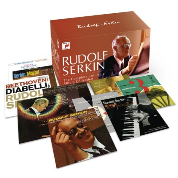 Rudolf Serkin: The Complete Columbia Album Collection | Sony 88985404062
