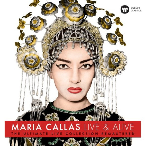 Maria Callas: Live & Alive - The Ultimate Live Collection Remastered (LP) | Warner 9029584467