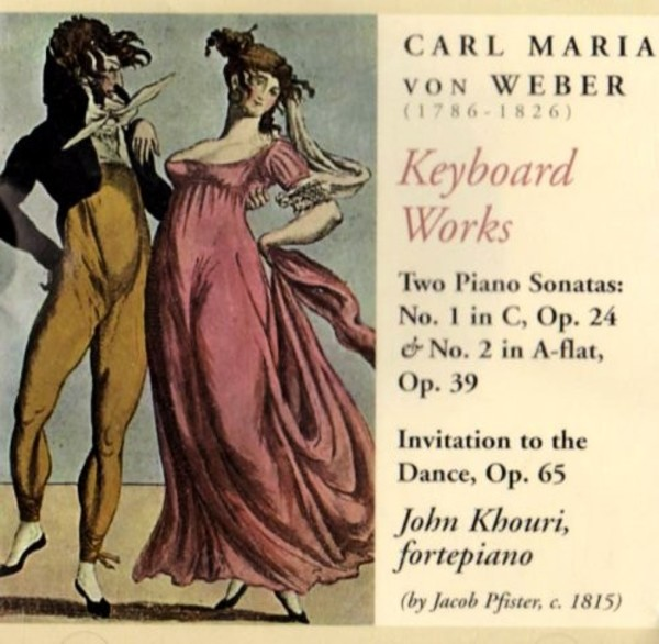 Weber - Keyboard Works | Music & Arts MACD0983
