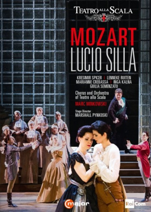 Mozart - Lucio Silla (DVD) | C Major Entertainment 743308